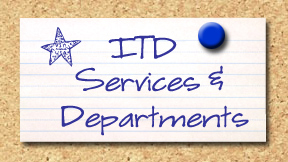 ITD Services and Departments