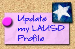 Update my LAUSDnet Profile